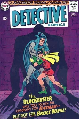 Origin and First Appearance, Blockbuster, Detective Comics #345, DC Comics, 1965. Click for value