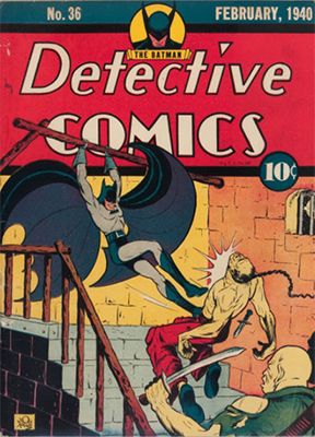Origin and First Appearance, Professor Hugo Strange, Detective Comics #36, DC Comics, 1940. Click for value