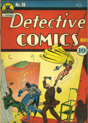 Detective Comics #39. Click for current values