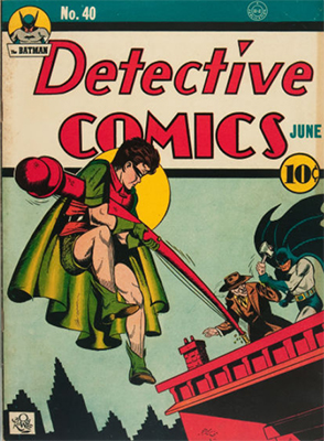 Detective Comics #40: Origin and First Appearance of Clayface. Click for values
