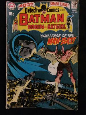 Detective Comics #400 Value? Front cover