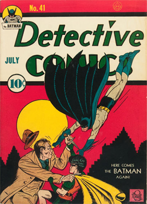 Detective Comics #41. Click for current values