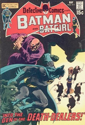 Origin and First Appearance, Talia al Ghul, Detective Comics #411, DC Comics, 1971. Click for value