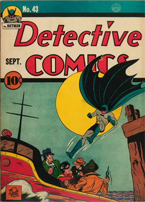 Detective Comics #43. Click for current values