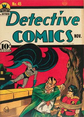 Detective Comics #45. Click for current values