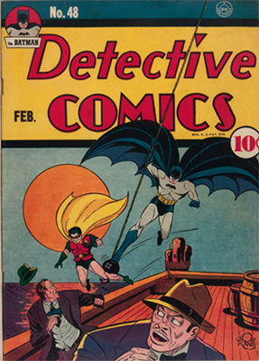 Detective Comics #48. Click for current values
