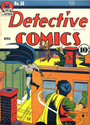 Detective Comics #50. Click for current values