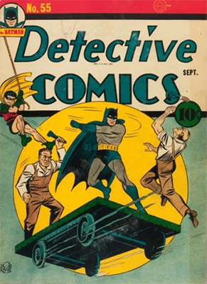 Detective Comics 55. Click for current values.