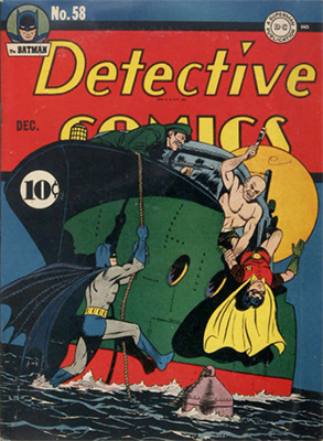 Detective Comics #58: first Penguin appearance. The Dynamic Duo go up against a new villain in this issue. Click for value