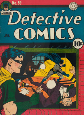 Detective Comics 59: 2nd Penguin appearance. Click for value