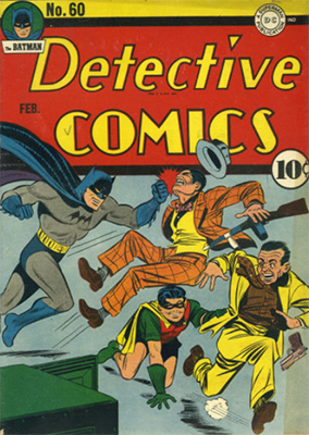 Detective Comics #60: Origin and First Appearance, Air Wave. Click for values