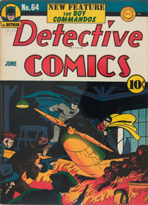 Detective Comics 64. Click for current values.