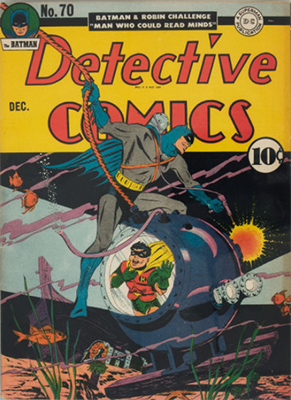 Detective Comics 70. Click for current values.