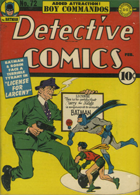 Detective Comics 72. Click for current values.