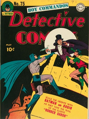 Detective Comics 75. Click for current values.