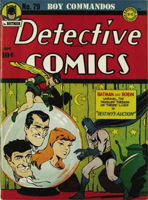 Detective Comics 79. Click for current values.