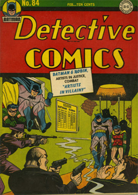 Detective Comics 84. Click for current values.