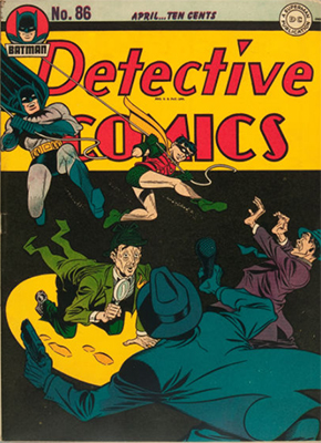 Detective Comics 86. Click for current values.