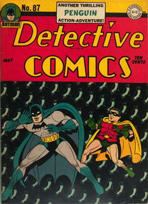 Detective Comics 87. Click for current values.