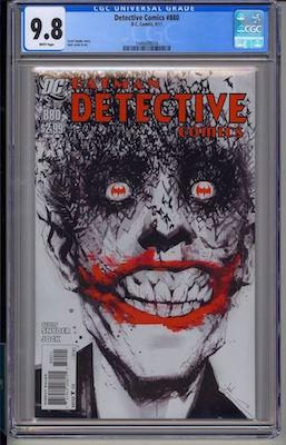 Hot Comics #59: Detective Comics #880, classic Joker cover by Jock. Click to buy a copy