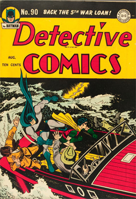 Detective Comics 90. Click for current values.