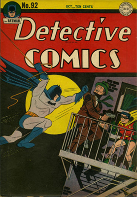 Detective Comics 92. Click for current values.