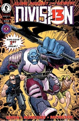 Origin and First Appearance, Law, Division 13 #1, Dark Horse Comics, 1994. Click for value