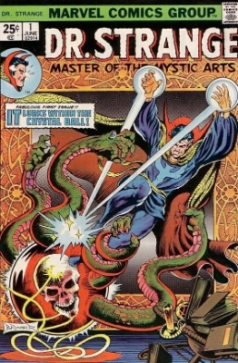 Doctor Strange #1, June 1974: Relaunched Title. Click for value