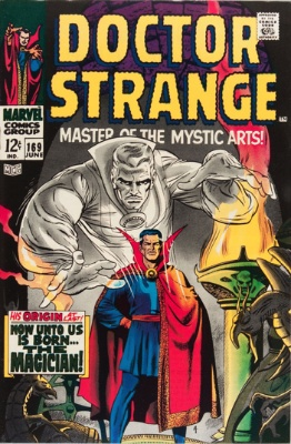 Doctor Strange #169, June 1968: First Issue of Doctor Strange's Own Title. Click for value