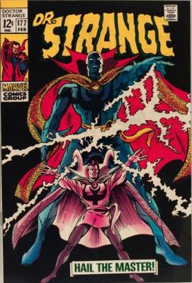 Doctor Strange #177, February 1969: New Costume; Gene Colan Art. Click for value