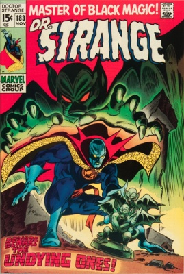 Doctor Strange #183, November 1969: Final Issue of Doctor Strange. Click for value