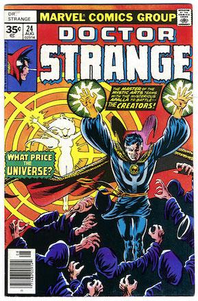 Doctor Strange #24 35c Price Variant
