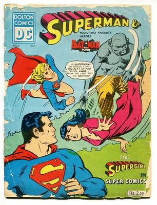 Dolton Comics of India Superman Batman vol.3 no.1 Value?