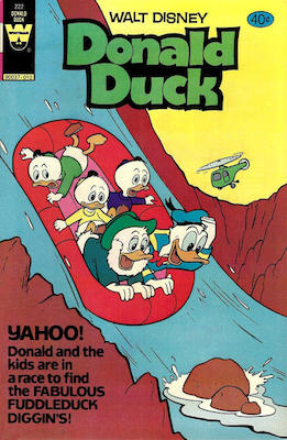 Donald Duck #222. Click for current values.