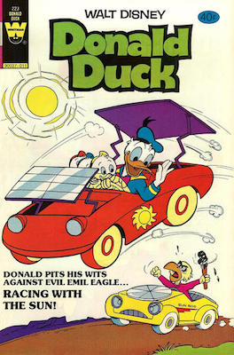 Donald Duck #223. Click for current values.