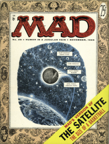 MAD Magazine #26: 7-Year Itch Monroe parody. Click for values