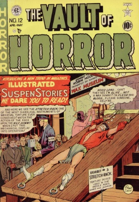 Vault of Horror is one of EC Comics' early horror titles