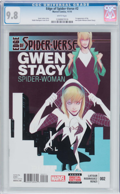 Edge of Spider Verse 2, regular edition. Click to buy a copy