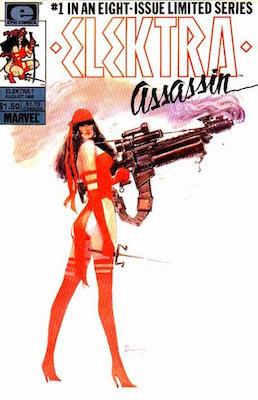 Elektra Assassin #1-8: First solo Elektra comics. Click for values