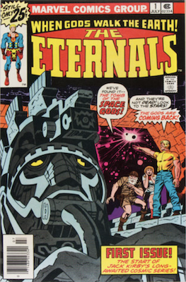 Upcoming Marvel Movies: Eternals #1 by Jack Kirby. Click to buy