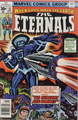 Eternals #11: First appearance of Kingo Sunen and Druig. Click for values