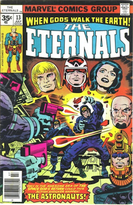 Eternals comic #13 exists as a 35c price variant. RARE! Click for more info