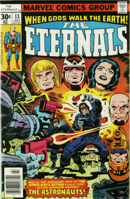 Eternals #13 is the first appearance of Gilgamesh. Click to buy