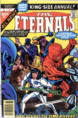 The Eternals Annual #1. Click for values
