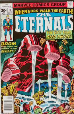 The Eternals #10. Click for values
