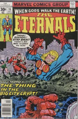 The Eternals #16. Click for values