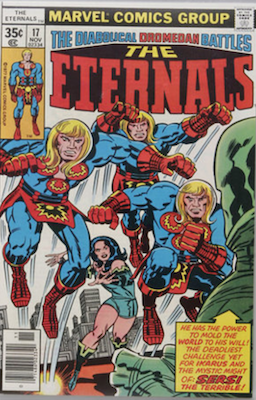 The Eternals #17. Click for values
