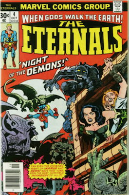 The Eternals #4. Click for values