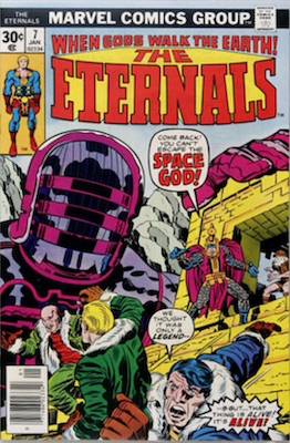 The Eternals #7. Click for values