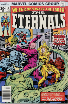 The Eternals #8. Click for values
